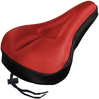 Comfortable Bike Bicycle Seat Memory Foam Waterproof Bicycle Saddle Extra Soft Bicycle Seat Cover Easy Install Ergonomic D...