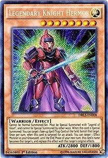 Yu-Gi-Oh!! - Legendary Knight Hermos (DRL2-EN008) - Dragons of Legend 2 - 1st Edition - Secret Rare