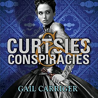 Curtsies and Conspiracies audiobook cover art