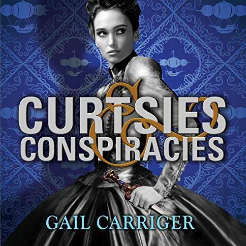 Curtsies and Conspiracies     Finishing School, Book 2              By:                                                                                                                                 Gail Carriger                               Narrated by:                                                                                                                                 Moira Quirk                      Length: 9 hrs and 31 mins     129 ratings     Overall 4.7