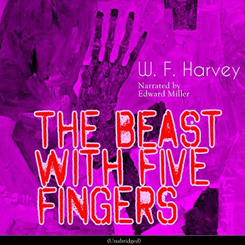 The Beast with Five Fingers audiobook cover art