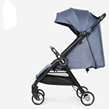 DYFAR Stroller Pushchair from Birth, Sport Pushchair from Birth to 25 Kg with Rain Cover with Cup Holder Hooks Easy and Compact Folding Sport Stroller Travel System