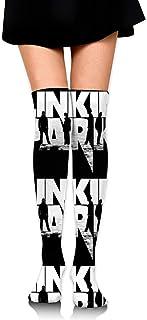 ロングフルレングスソックス Linkin Park ソックス、ロングソックス、ショートスカート、ハイヒール、スニーカーと組み合わせることができます