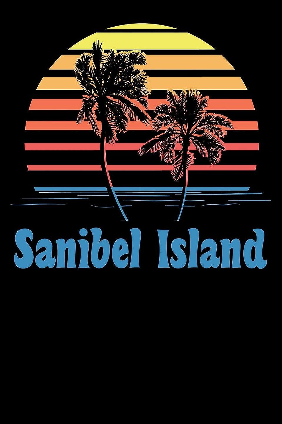 交じる注釈記念日Sanibel Island: Beach Lover's Journal with Beach Themed Stationary (6 x 9)