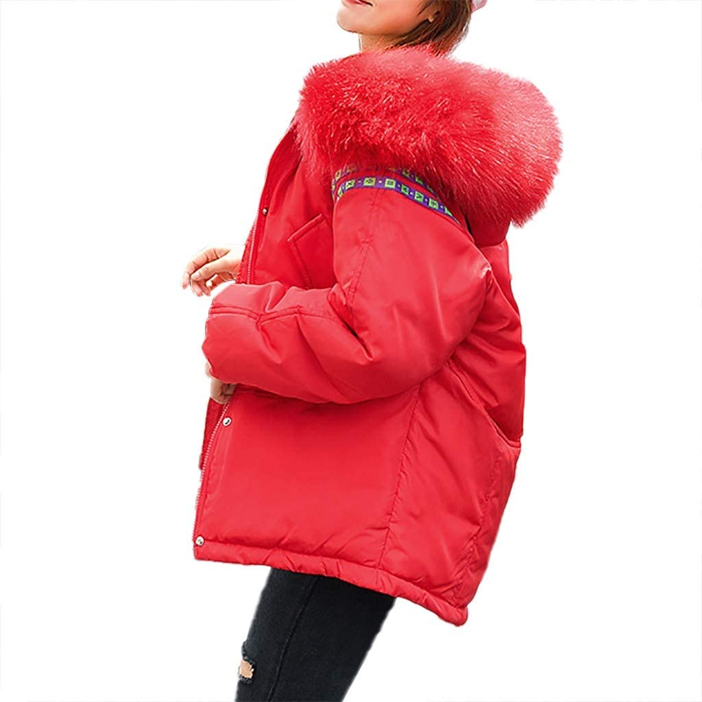 GoldenChuan Down Jackets for Year-end annual account Pocket Phoenix Mall Zipper Womens Cotton-Padded