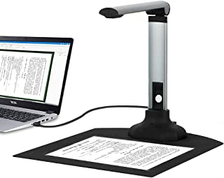 High Definition Document Camera Portable 10MP HD Smart Document Scanner with Real-Time Projection Video Recording Function...