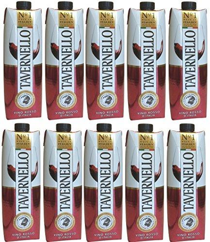 Tavernello Rosso Vino d'Italia 10 x 1 Liter