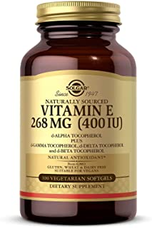 Solgar Vitamin E Mixed Vegetarian  400 Iu, 100s