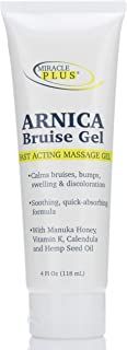 Sponsored Ad - Miracle Plus Arnica Bruise Cream for bruising, swelling, discoloration. (4oz, Gel)