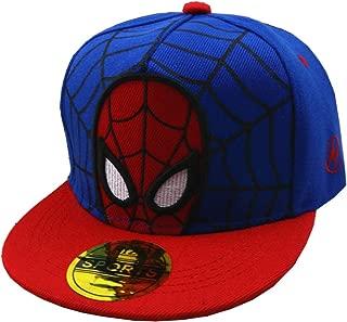 CHOICE99 Boys Spider Man Cartoon Baseball Cap Hat Kid Trucker hat Spiderman Kids Toddler Cotton Ball Cap Snapback