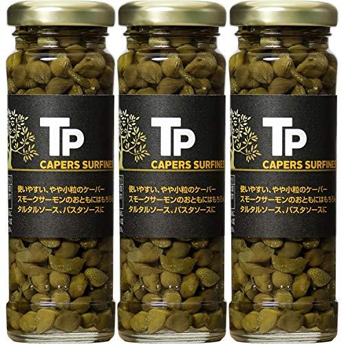 スマートマットライト TP ケーパー 100g×3個 瓶 [ スペイン産 酢漬け ケッパー ]