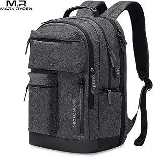 Irfora Mark Ryden Portable New Outdoor WaterNylon Knapsack Male Business Multi-Function Three Layers Travel Laptop Bag