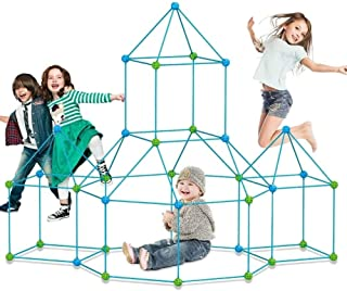 Fort Building Toys Kit for Kids, Fort Builder Set Construction Build a Fort Boys and Girls DIY Toys for 5-12 Year Old 85 P...