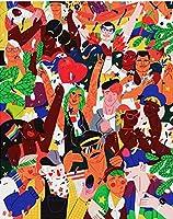 大人の娯楽のための1000個のジグソーパズル-家族の肖像画子供の教育玩具パズル誕生日プレゼント家族の装飾