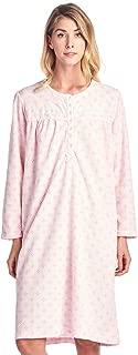 Women's Cozy Long Sleeve Fleece Nightgown