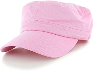 Easy-W Pink Military Style Caps Hat Unizex Bucket