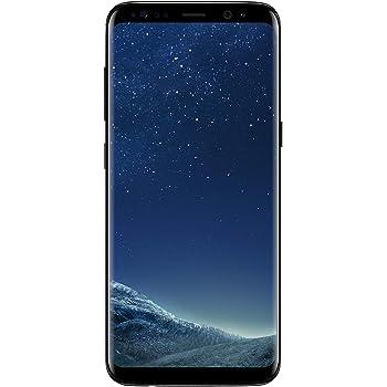 Samsung Galaxy S8 - Verizon + GSM Unlocked -64GB - Midnight Black (Renewed)
