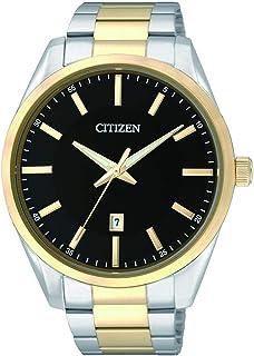 CITIZEN Mens Quartz Watch, Analog Display and Stainless Steel Strap - BI1034-52E