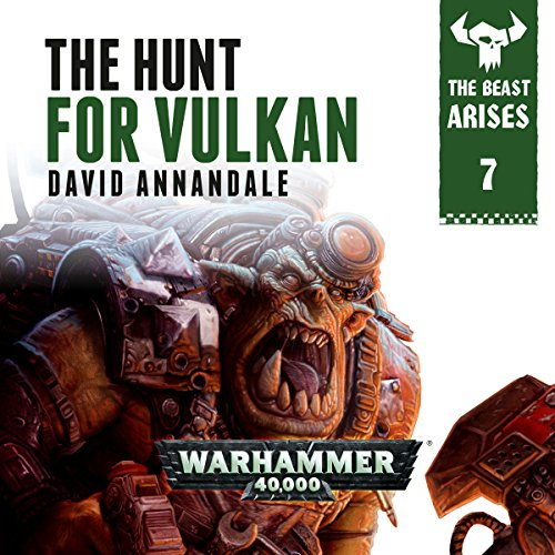 The Hunt For Vulkan: Warhammer 40,000 audiobook cover art