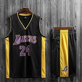 Traje YC-Tang Uniformes Lakers Kobe Nº 24 Baloncesto Traje ...