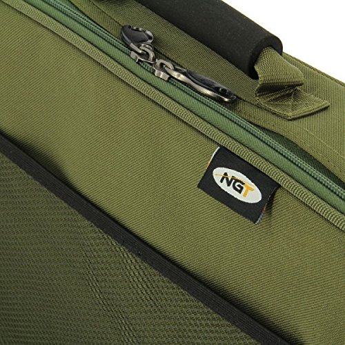 NGT Carp Fishing Deluxe Anglers Box Case Tackle & Bait Storage System with Legs
