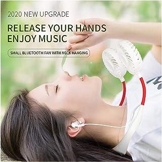 Lhuaguo - Organizador de cuello, ventilador USB, 3 velocidades, para casa, oficina, dormitorio, etc.