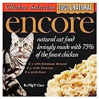 Encore Cat Tin Multipack Chicken Selection 8 x 70g 560g Encore Quantity: 1