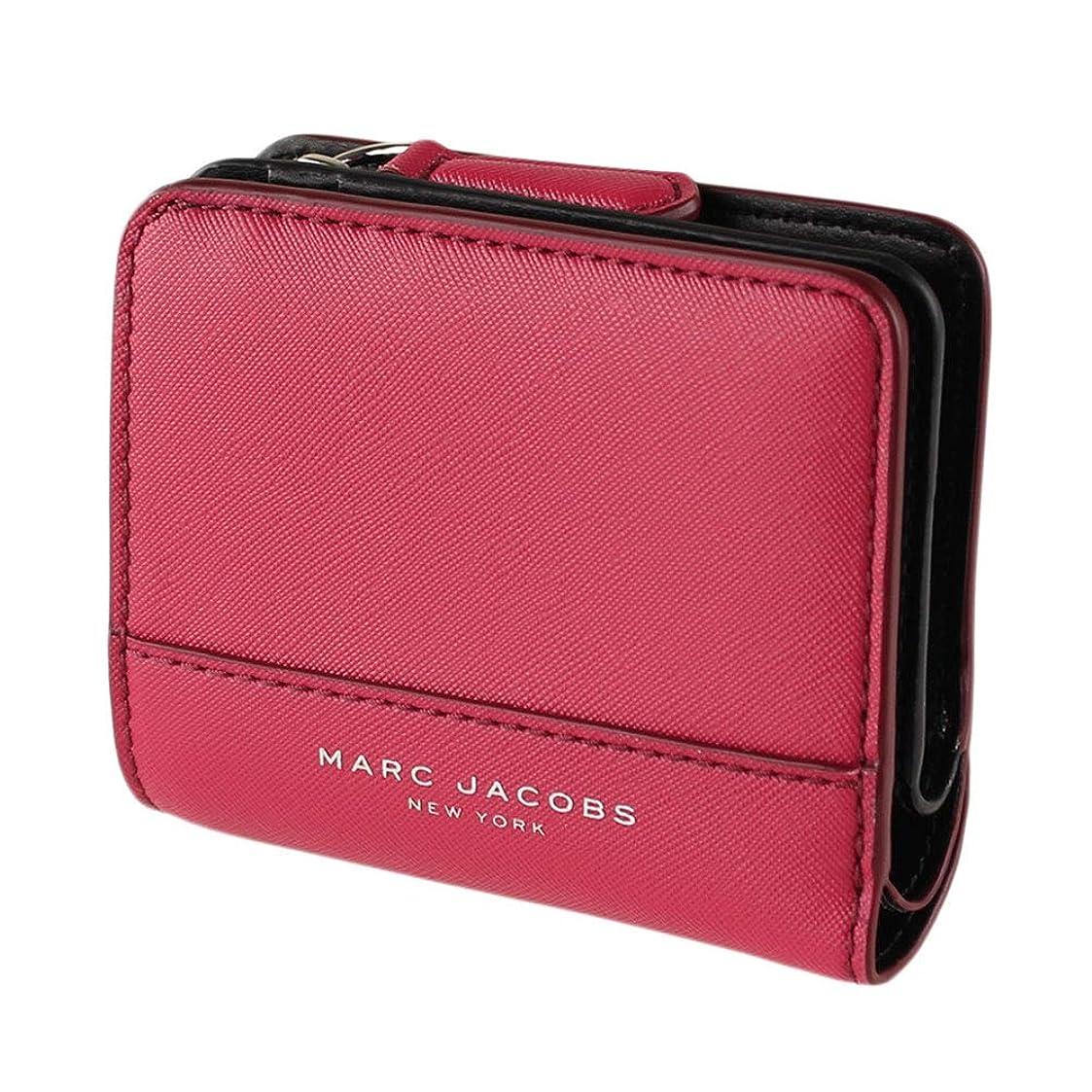 マイクロマナー協力的マークジェイコブス MARC JACOBS レディース 折りたたみ財布 m0014235 mini compact wallet [並行輸入品]