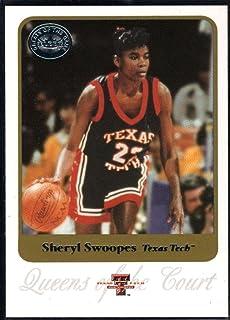 a6b53b03913 Basketball NBA 2001 Fleer Greats of the Game  83 Sheryl Swoopes QC