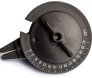 Seaner Stringmeter String Tension Tester Meter for Badminton -Black