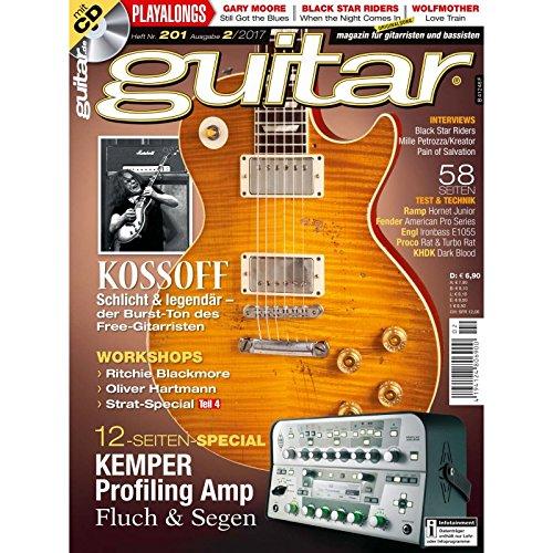 guitar Magazin - Kossoff - mit CD - Interviews - Workshops - Gitarre Playalongs - Test und Technik