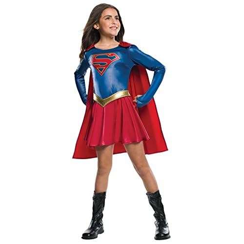 5235b25b6 Rubie's Official Supergirl TV Series Fancy Dress Children's Costume, 147 cm  - Large, 8