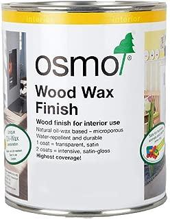 OSMO Wood Wax Finish Transparent - EBONY - .75L