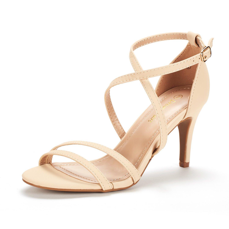 DREAM PAIRS Fashion Stilettos Sandals