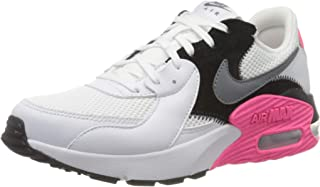 Nike Air Max Excee Women's Athletic & Outdoor Shoes, White (White/Cool Grey-Black-Hyper Pink)