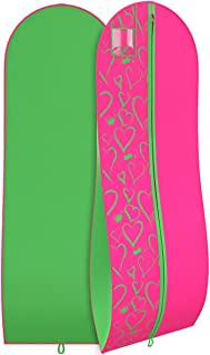 pink and green aka dress