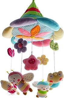 SHILOH Baby Crib Decoration Newborn Gift 60 tunes Pllush Musical Mobile (Forest)