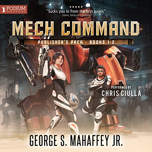 Mech Command: Publisher's Pack audiobook cover art