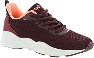 Propet Stability Strive Women's Oxford 7.5 C/D US Burgundy-Coral