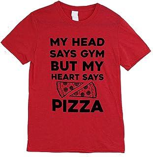 The Bold Banana My Head Says Gym But My Heart Says Pizza T-Shirt