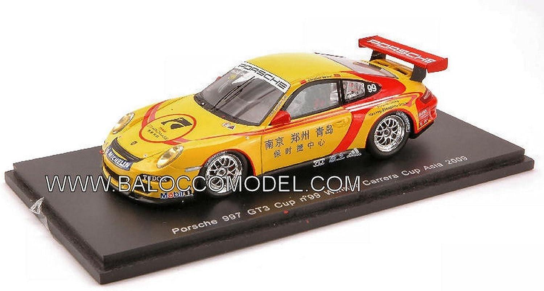 Para tu estilo de juego a los precios más baratos. Spark Model S2063 Porsche 997 GT 3 N.99 ASIA09 ASIA09 ASIA09 1 43 MODELLINO Die Cast Model Compatible con  Seleccione de las marcas más nuevas como