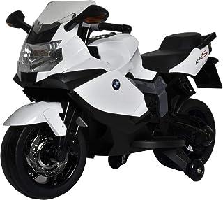 Megastar Super Hero Licensed Ride on BMW Motorcycle - 283, White