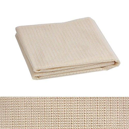 ATPWONZ Teppich-Antirutsch-Matte Antirutschmatte Teppichgleitschutz zuschneidbar rutschfest und für Fast alle Fahrzeugtypen und Haushalt geeignet Größe 110 x 185cm