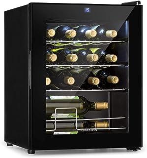 Klarstein Shiraz - Vinoteca Temperaturas ajustables de 5 a 18 °C Panel de control táctil Iluminación interior LED Esta...