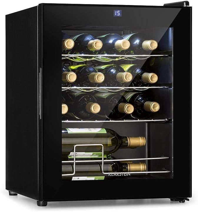 Frigorifero per vini, cantinetta, classe energetica g, 5-18 °c, 42 db, pannello soft-touch klarstein shiraz HEA-90400-omev