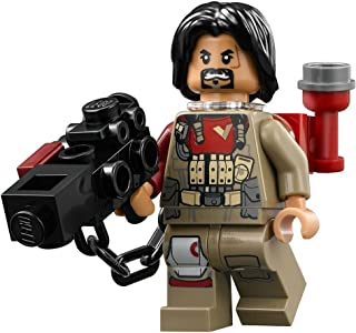 Lego Star Wars Rogue One Baze Malbus Minifigure with Weapon