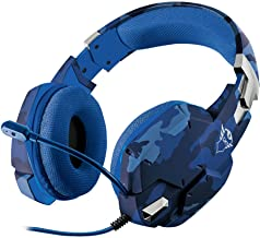 Headset Gamer PS4 / PS5 / XBOX series / SWITCH / PC / LAPTOP GXT 322B Carus - Azul - Trust