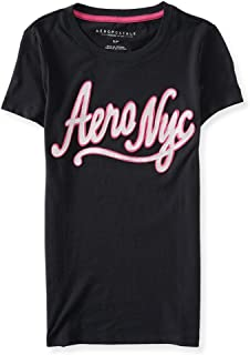 AEROPOSTALE Womens Neon Script Embellished T-Shirt