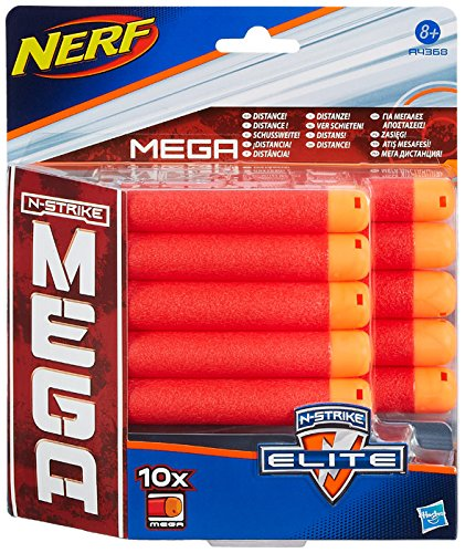Hasbro Nerf A4368E24 N-Strike Elite MEGA Darts, Zubehör