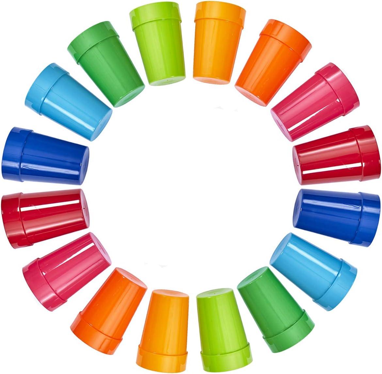 lowest price Set of 16 Spectrum Unbreakable Juice Kids 10oz Plastic Tumbl SALENEW very popular